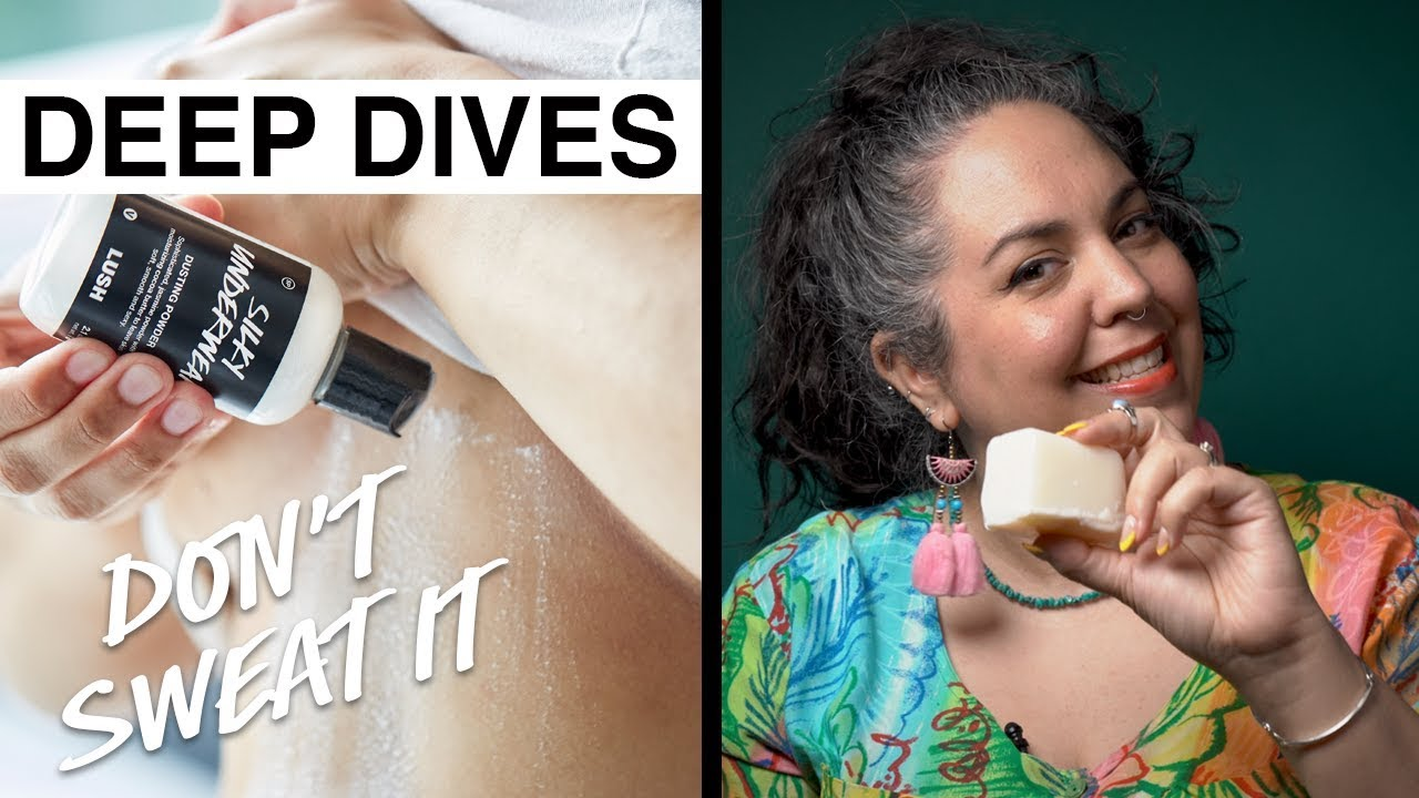 Lush Deep Dives: Don't sweat it with aluminum-free deodorants