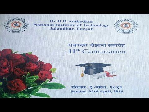 Convocation 2016 NIT Jalandhar