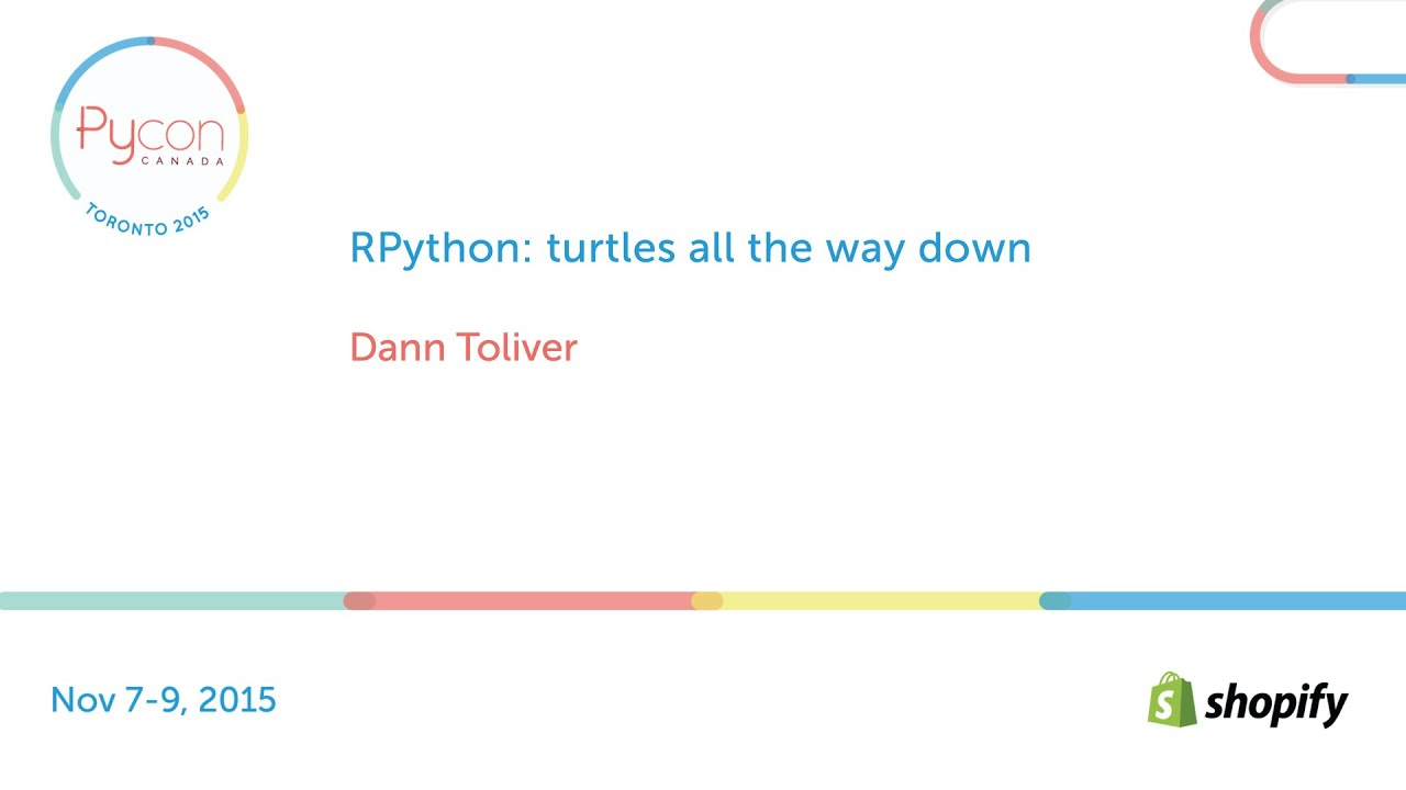 Image from RPython: turtles all the way down