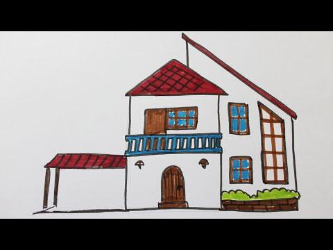 Apprendre dessiner une maison en perspective doovi for Apprendre a dessiner une maison en perspective