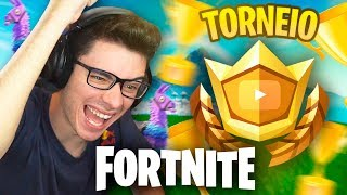 PRIMEIRO TORNEIO DE YOUTUBERS NO FORTNITE!! #TeamFLAKES thumbnail