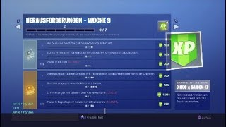 week 9 challenges + important live stream infos/patch 6.3/Fortnite Battle Royale