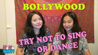 Try Not To Sing Challenge - Bollywood Edition- (We tried!)