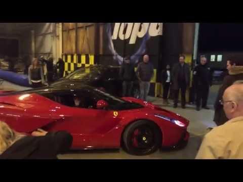 Ferrari La Ferrari And The New Corvette Top Gear Feb 2015