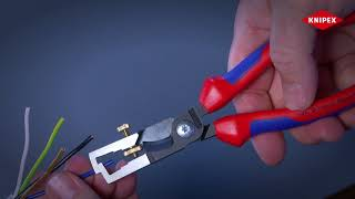 KNIPEX StriX - Wire Stripper with Cable Shears