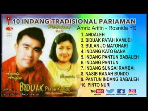 INDANG PARIAMAN VOL 5 - AMRIZ ARIFIN - BIDUAK PATAH KAMUDI - Full Album ( Lagu Minang )