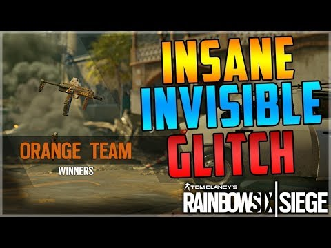 INSANE INVISIBLE GLITCH - EVERY OPERATOR -NEW - (Rainbow Six Siege) AFTER PATCH