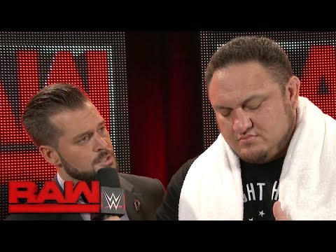 Samoa Joe remains fearless after brawling with Brock Lesnar: Raw, June 12, 2017