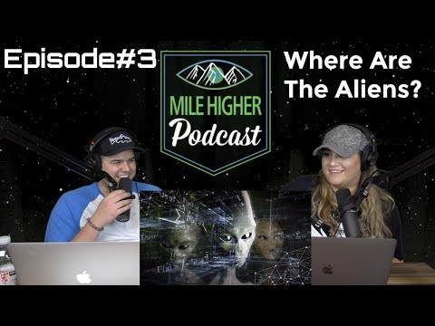 Podcast #3 - Where Are All The Aliens? The Fermi Paradox