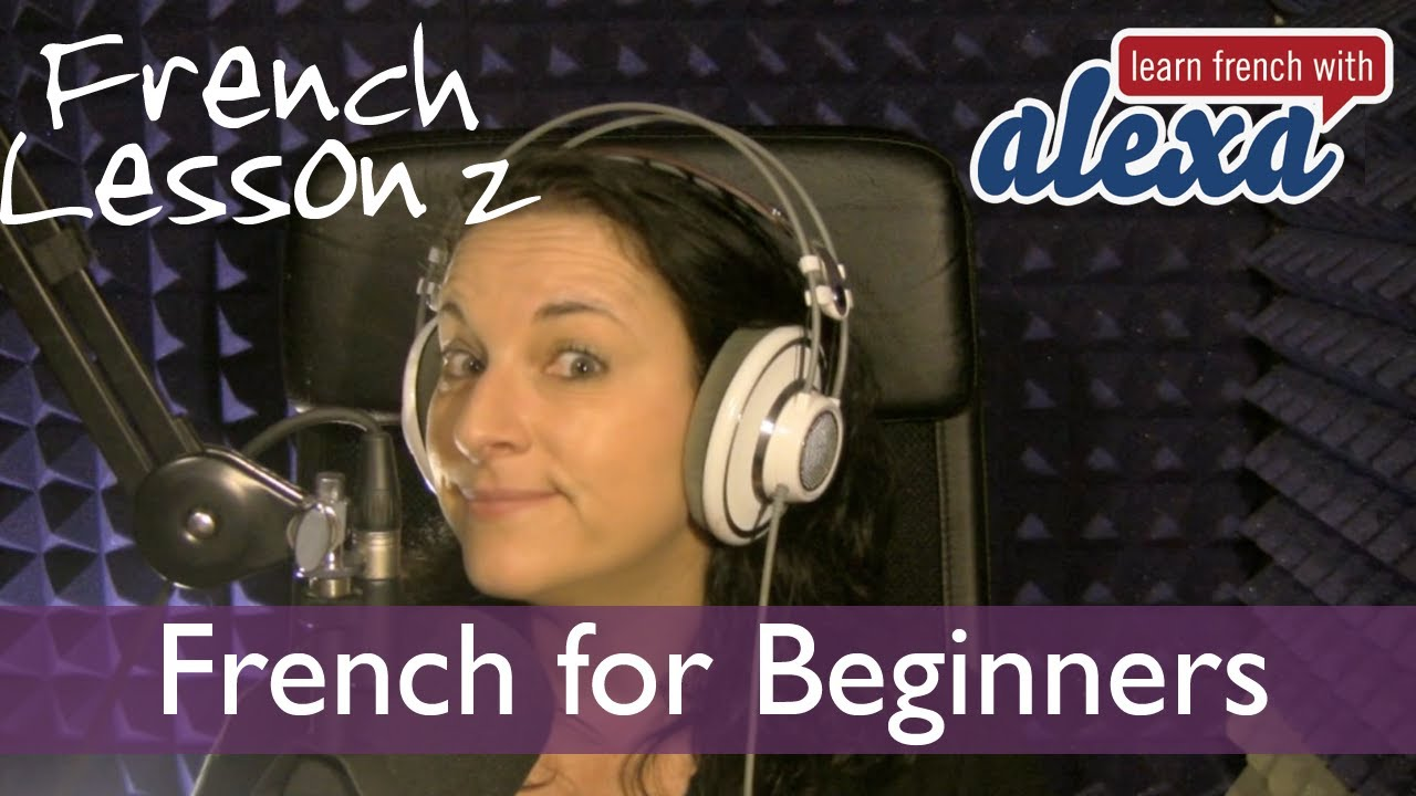 free french audio lessons for beginners