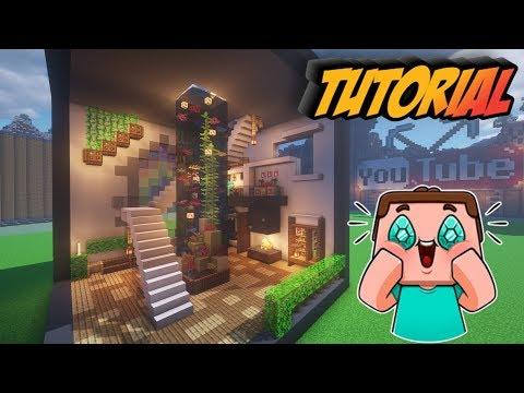 Minecraft: Room Tutorial - How To Build A Modern Aquarium In Minecraft