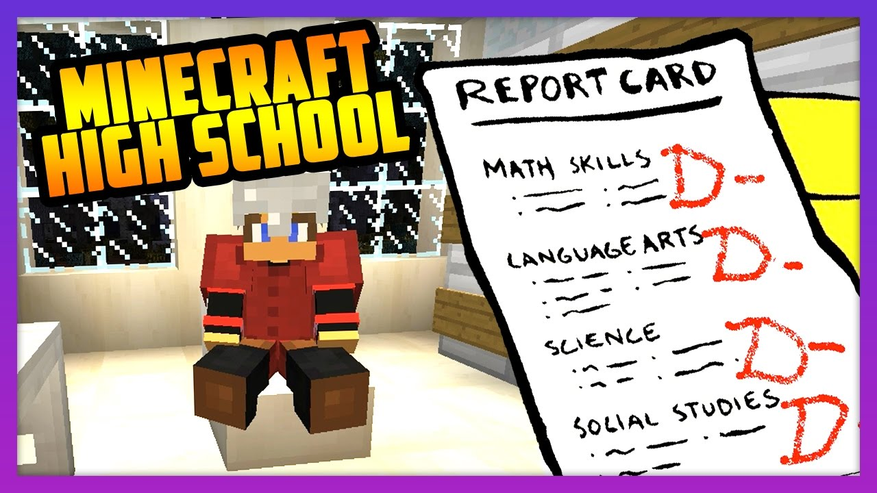 NEW RP MINECRAFT SCHOOL SERVER