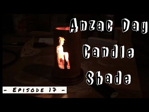 The Anzac Candle Shade