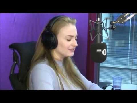 Sophie Turner Sansa Stark Grimmy BBC Radio 1 2015
