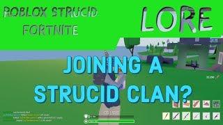 I JOINED A STRUCID CLAN??? II Roblox Strucid Fortnite II LORE clan