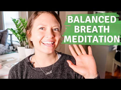 SAMA VRITTI BREATH TO REDUCE STRESS | Guided Breathing Meditation