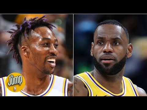 LeBron dropped an absurd dime to Dwight Howard that showed his vision is on another level | The Jump
