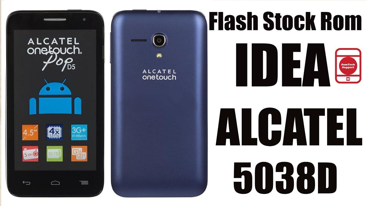 Прошивка на Alcatel One Touch 5038d