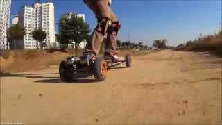 CRAZY RC] Mountain board Electric off-road driving #1 전동마운틴보드 라이딩