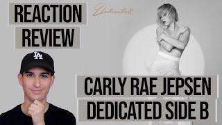 Baixar CARLY RAE JEPSEN - DEDICATED SIDE B - ALBUM // *REVIEW* *REACTION*