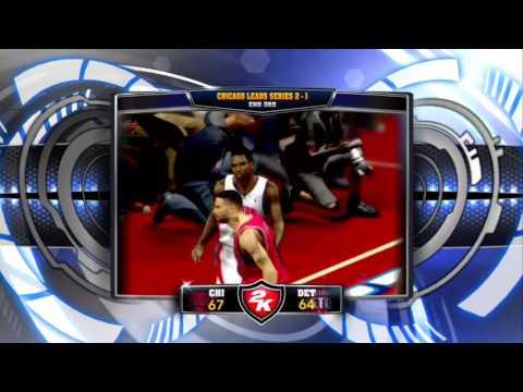 Bullz Vs Pistons GAME 4 (Playoffz)