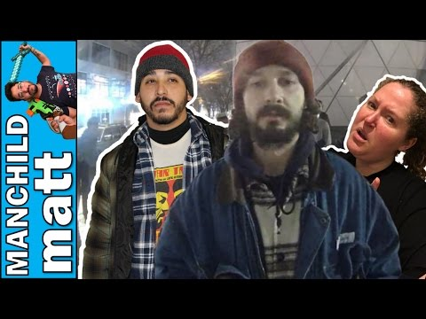 He Will Not Divide Us - Husband & Wife Fight Over Protest | Shia Labeouf & Jaden Smith