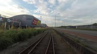 Cabinerit: Dordrecht Zeehaven - Dordrecht - Tilburg Industrie. 4K UHD