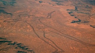 Who Put This 2-Mile Long Drawing in the Australian Desert?