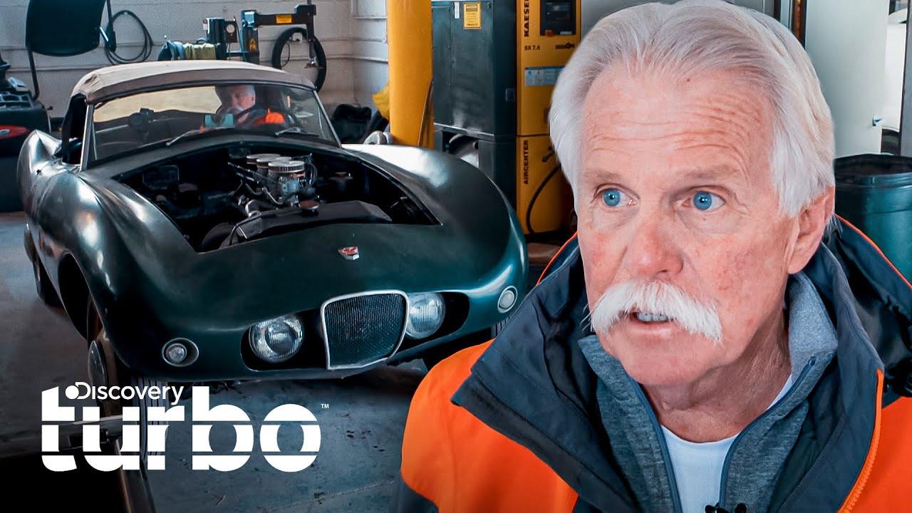 Arnolt Bristol vuelve a funcionar luego de 5 décadas   Buscando autos clásicos   Discovery Turbo
