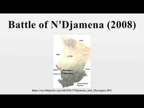 Battle of N'Djamena (2008)