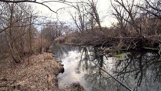 Голодные Щуки в Маленькой Речке Щука на неогруженную резину осенью