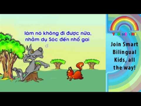 Vietnamese Bedtime Story - Sóc và Sói - TheHeTreTV.com