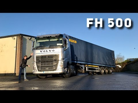 2020 VOLVO FH 500 (Rear Steer Tag Axle) Full Tour & Test Drive
