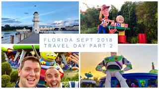Walt Disney World & Florida Vlog - Sept 2018 - Travel Day Pt 2 - Our first visit to Toy Story Land