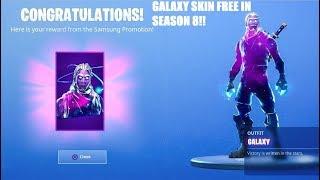 How To Get GALAXY SKIN For *FREE* In Fortnite Season 8! Galaxy Skin Free 2019!
