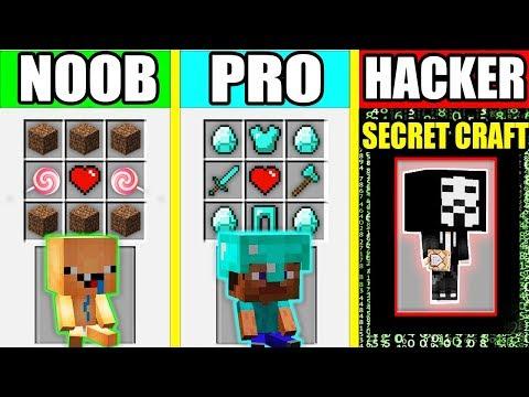 Minecraft - NOOB vs PRO vs HACKER : BABY FAMILY CRAFTING BATTLE in Minecraft Animation