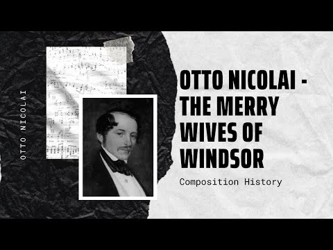Otto Nicolai - The Merry Wives of Windsor