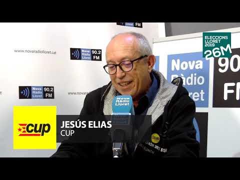 26-M: ENTREVISTA JESÚS ELIAS (CUP)