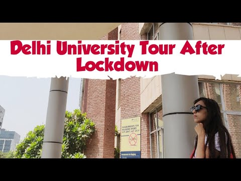 Delhi University Tour After Lockdown || North Campus Tour || 2020 ||