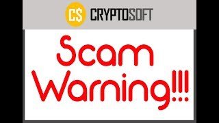 Crypto Software Scam Review.Dangerous Scam--- KEEP OFF