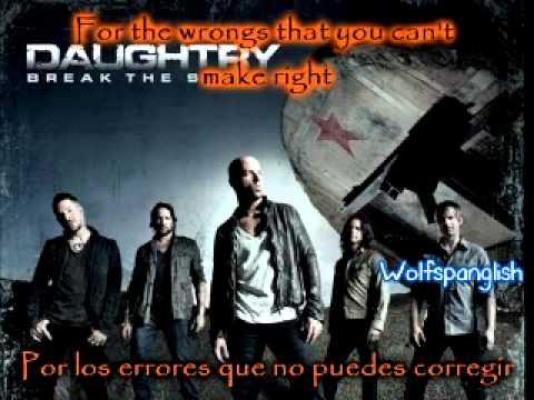 Daughtry - Crazy - Break the Spell (Ingles - Español)