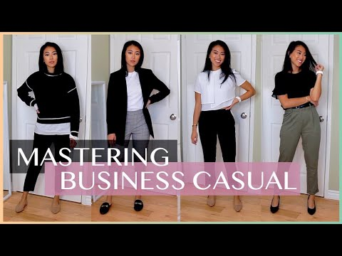 BUSINESS CASUAL OFFICEWEAR OUTFITS FOR WORK | Aritzia, H&M, Target, Zara