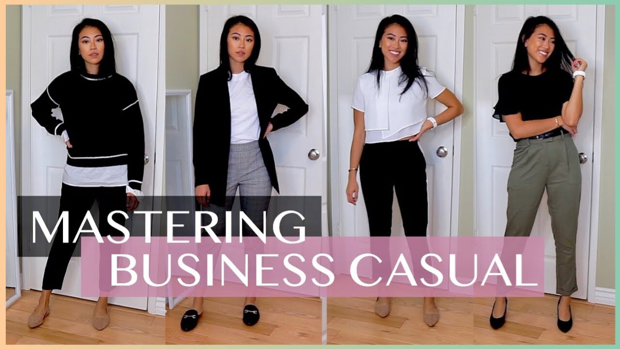 Business Casual Officewear Outfits For