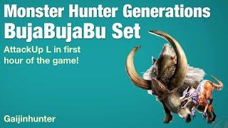 Monster Hunter Generations: BujaBujaBu Set