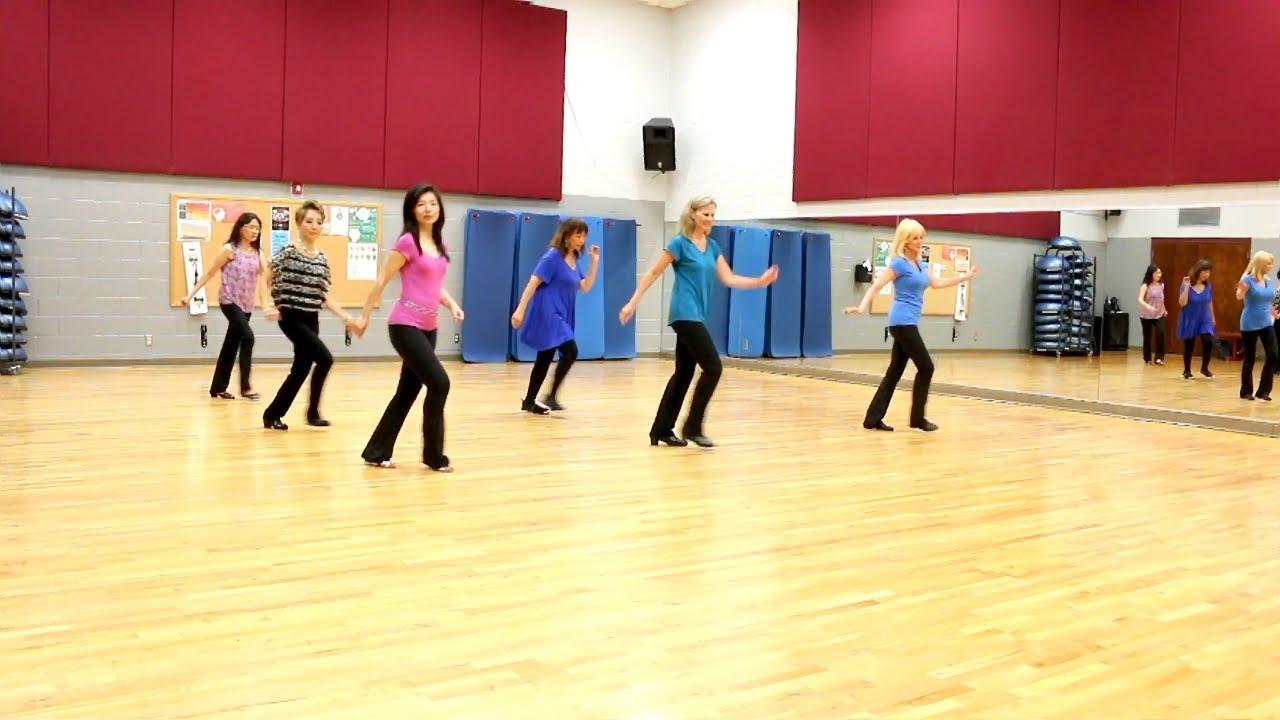 Rock-N-Roll-Is-King - Line Dance (Dance & Teach in English & 中文) - YouTube