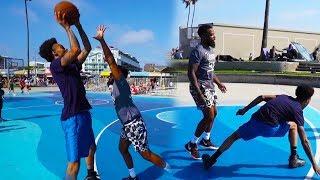 FLIGHT'S GAME WINNING SHOT ON ME! 1vs1 Basketball