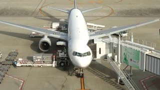 Tokyo International Airport Time Lapse