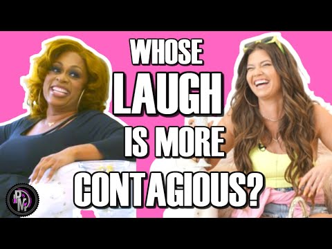 Contagious Laugh Off With Chanel West Coast | #PediThrowback