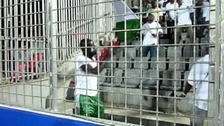 Nijerian supporters dancing in dhaka stadium gallery