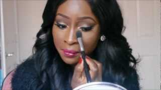 How I Apply My Ben Nye Banana Powder | Contouring & Highlighting | For Darker Skintones